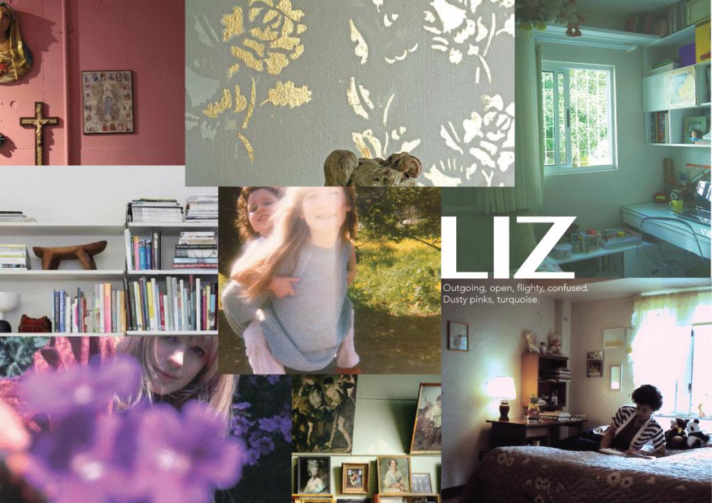 Liz - character board